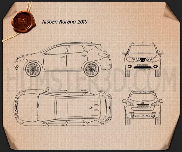 Nissan Murano 2009 Clipart