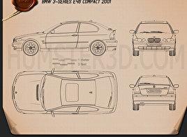 BMW 3 Series compact (E46) 2004