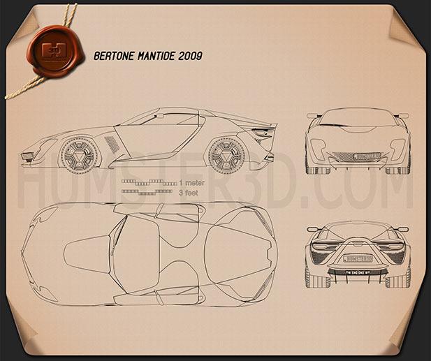 Bertone Mantide 2009