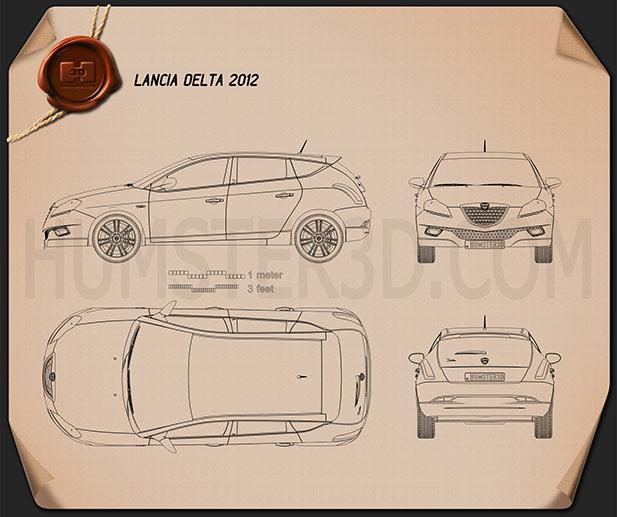 Lancia Delta 2012