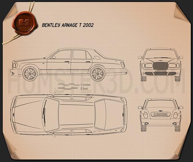 Bentley Arnage T 2002 Clipart Image