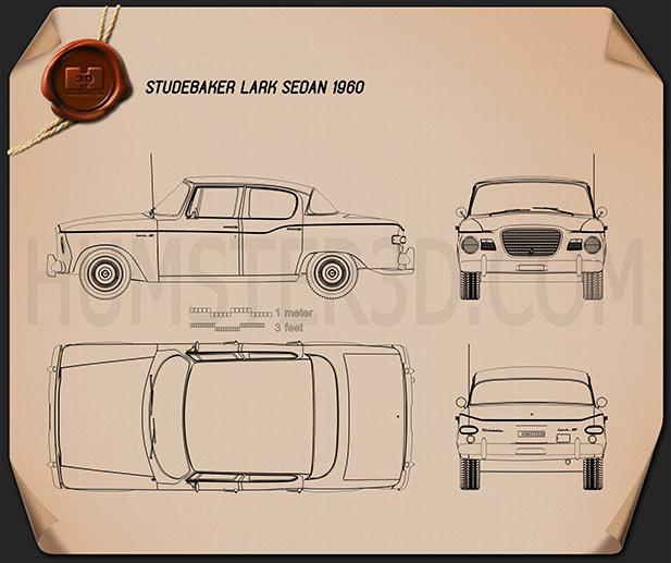 Studebaker Lark sedan 1960