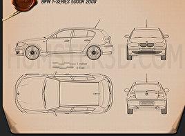 BMW 1 Series 5-door 2009