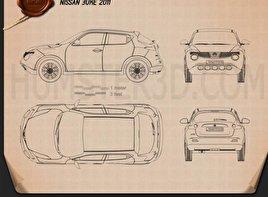 Nissan Juke 2011 car clipart