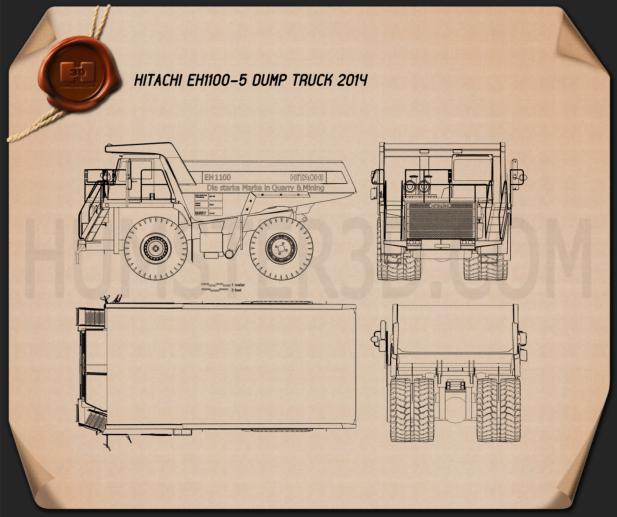 Hitachi EH1100-5 Dump Truck 2014