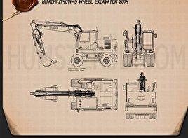 Hitachi Z140W-5 Wheel Excavator