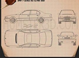 BMW 7 Series B12 Alpina 1999