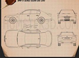 BMW 5 Series Sedan E60 2010