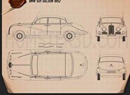 BMW 501 Saloon 1952