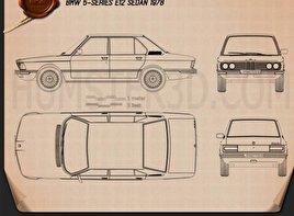 BMW 5 Series sedan (E12) 1978