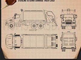 Sterling Acterra Garbage Truck 2002