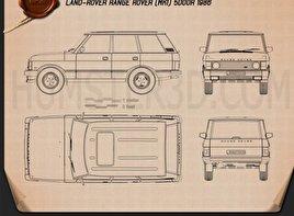 Land Rover Range Rover 1991