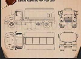 Sterling Acterra Oil Tank Truck 2002 clipart