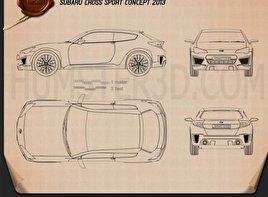 Subaru Cross Sport 2013