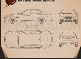 BMW M3 (F80) sedan 2014