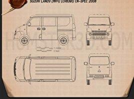 Suzuki Landy (CN) 2008 clipart