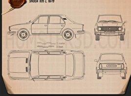 Skoda 105 L 1976