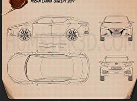 Nissan Lannia 2014