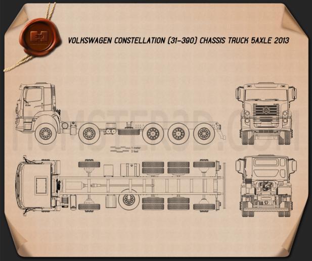 Volkswagen Constellation Chassis Truck 2013