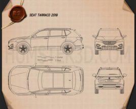 Seat Tarraco 2019 car clipart