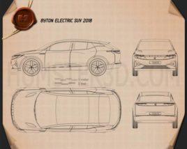 Byton Electric SUV 2018