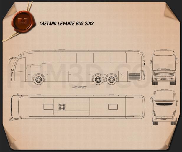 Caetano Levante Bus 2013