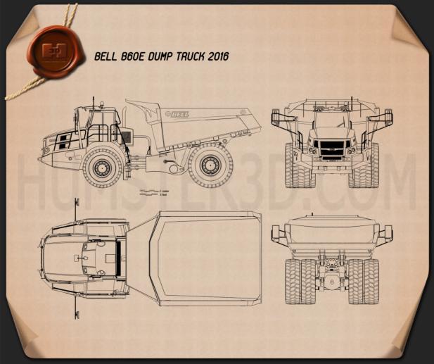 Bell B60E Dump Truck 2016