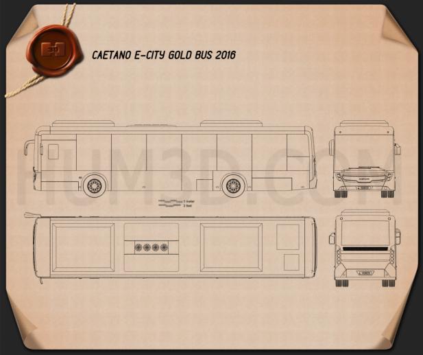 Caetano e-City Gold Bus 2016