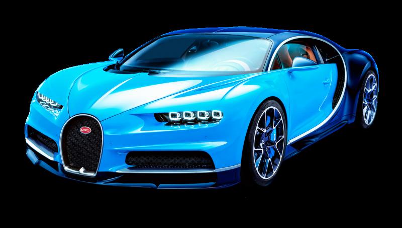 Bugatti Chiron Sports car Clipart Image