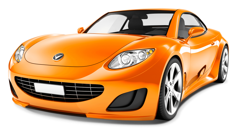Generic Sports Car Clipart Image