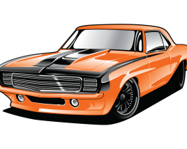 Muscle car PNG Download