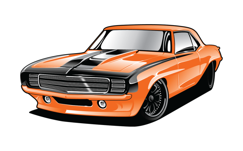 Muscle car PNG Download Clipart Image