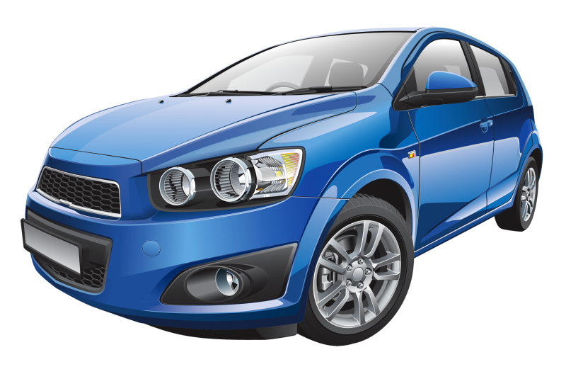 Small Family Car Clipart Image