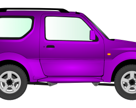 Small SUV Side view