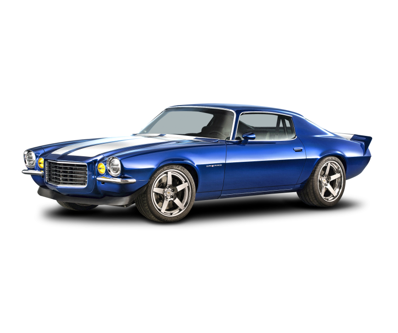 Chevrolet Muscle car Clipart Image