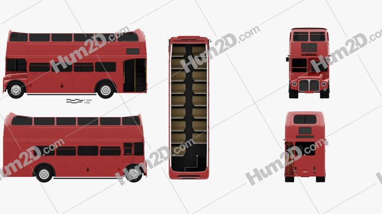AEC Routemaster RMC 1954