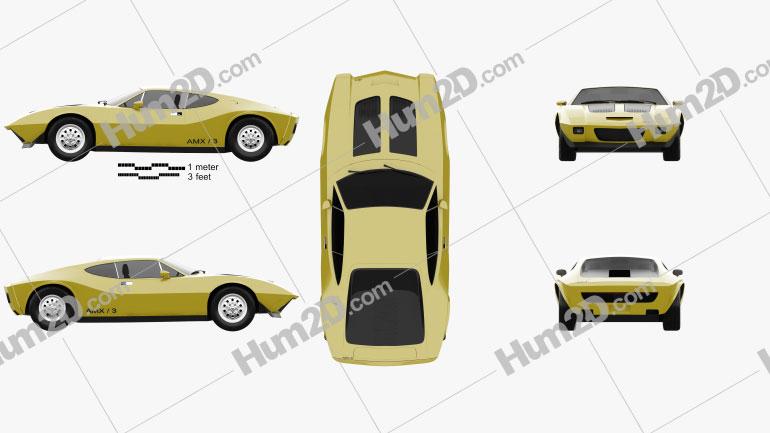 AMC AMX/3 1970