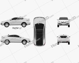 Acura ZDX 2012 Clipart
