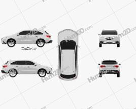 Acura MDX concept 2014 Clipart