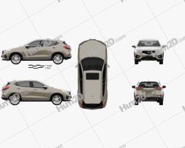 Acura CDX 2016 Clipart