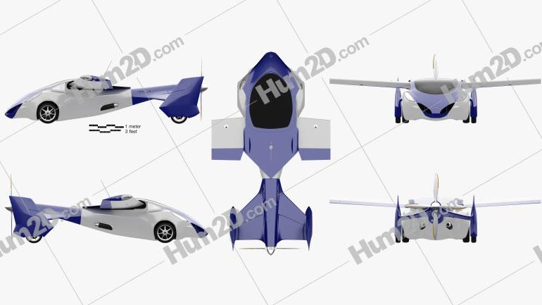 Aeromobil 3.0 2014