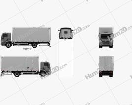 Agrale 14000 Box Truck 2012