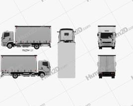 Agrale 8700 Box Truck 2012