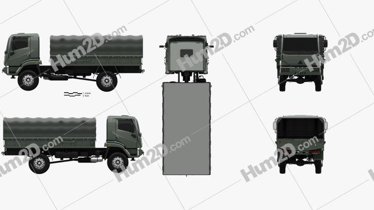 Agrale Marrua AM 41 VTNE Truck 2013 clipart