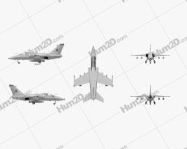 AMX international AMX Aircraft clipart
