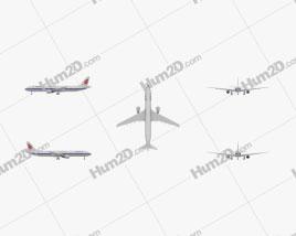 Airbus A330-300 Aircraft clipart