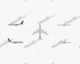 Airbus A380 Aeronave clipart