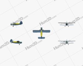 Antonov An-2 Clipart