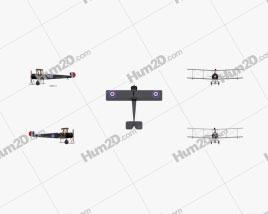 Avro 504 Aircraft clipart