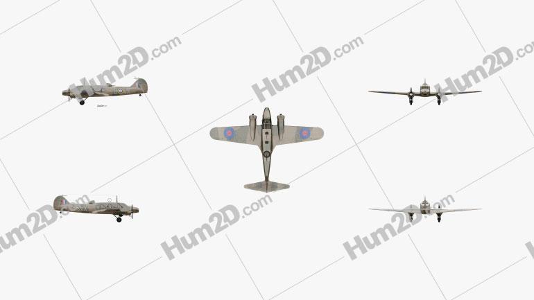 Avro Anson Aircraft clipart